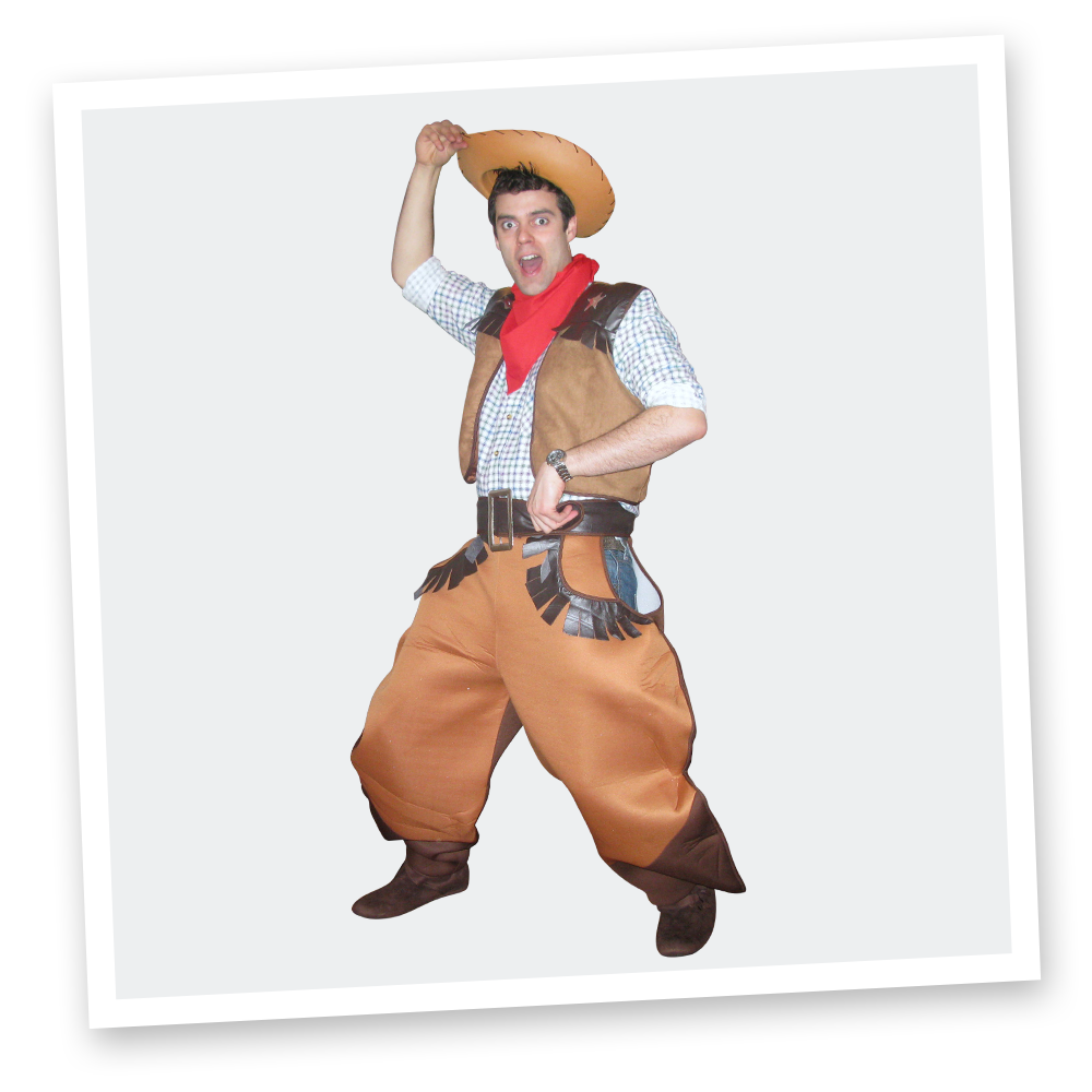 childrens themed parties - wild west cowboy