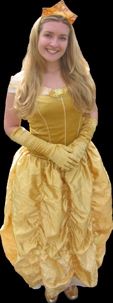 princess at a themed party