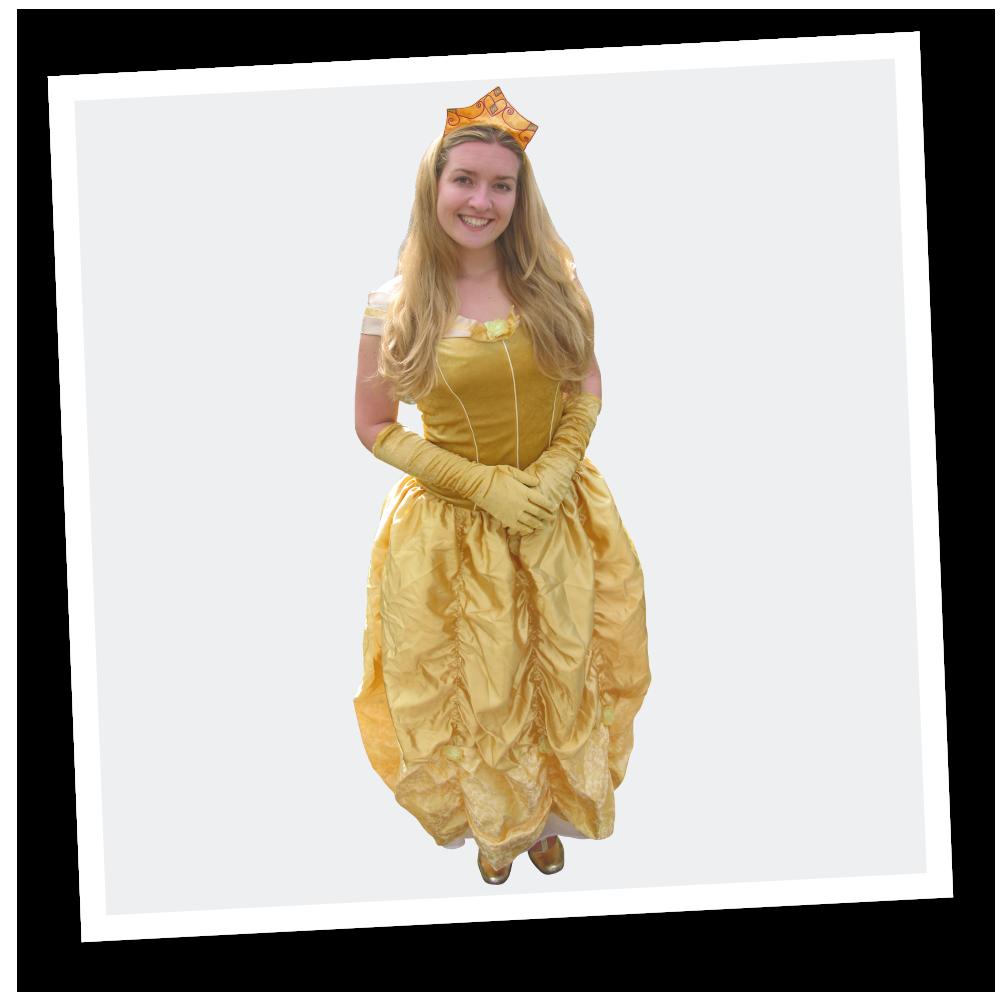 princess at a kids themed party