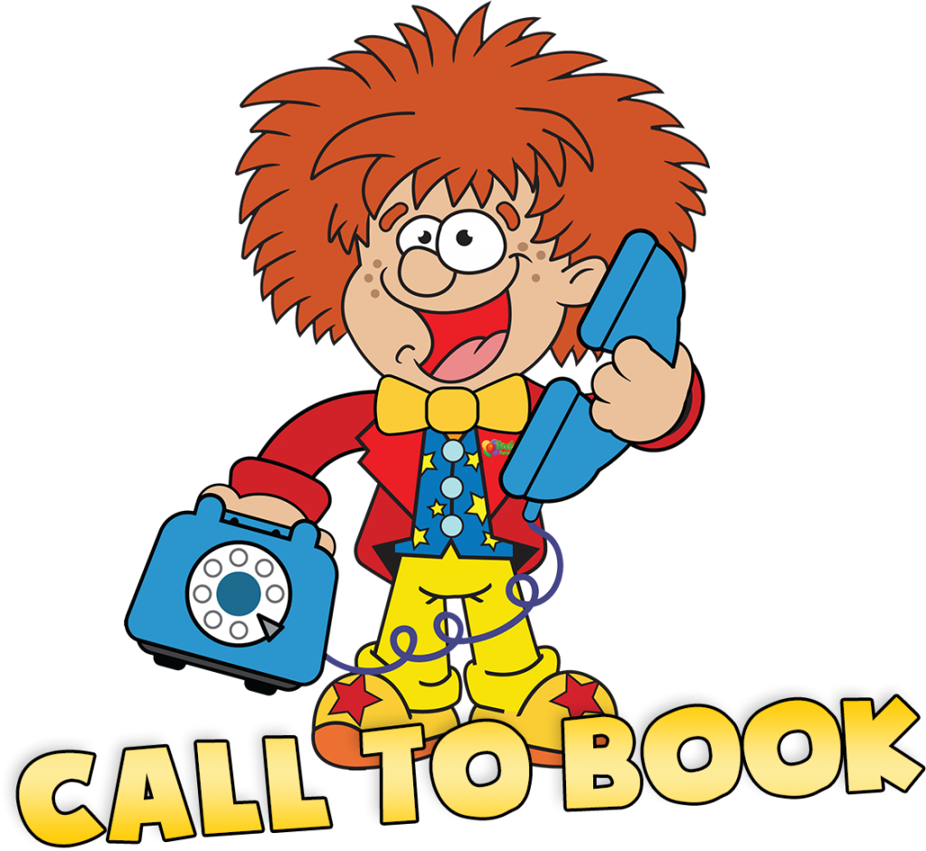 call to book a childrens party