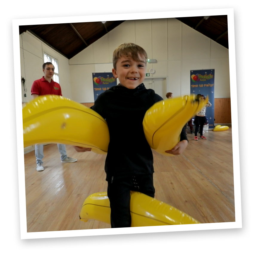banana run game in our kids and dancing parties