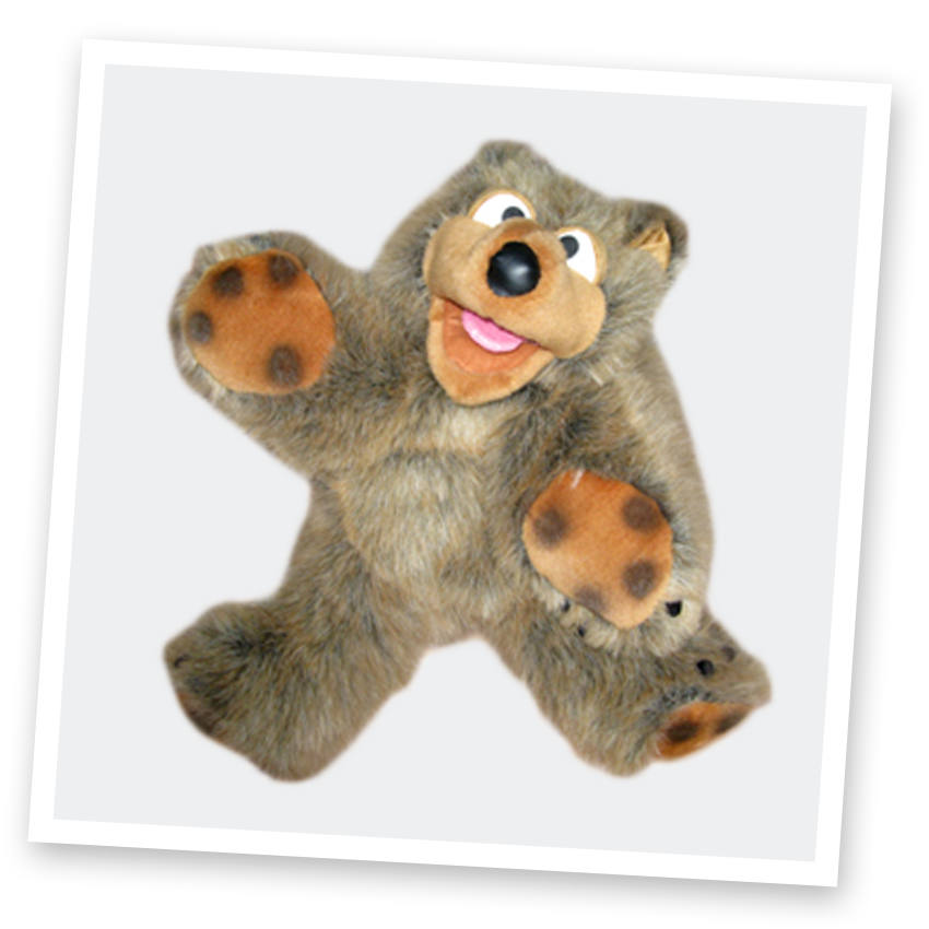 Biggles the bear - kids deluxe party entertainers