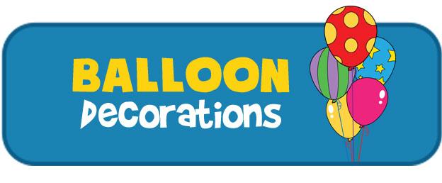 Balloon decoration party extra