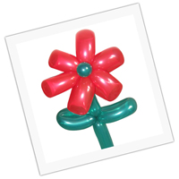 balloon model flower for children party